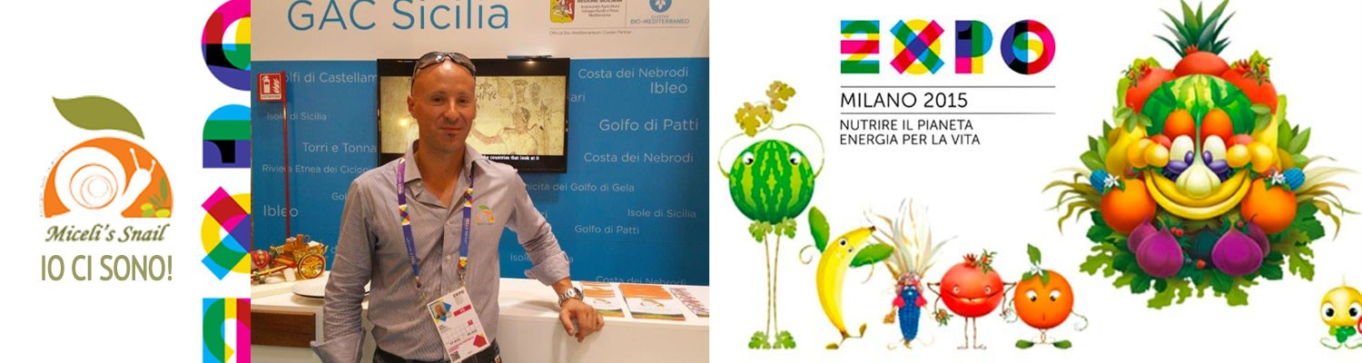 Miceli's Snail all'Expo Milano 2015