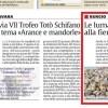 Le lumache di Ciro Miceli alla fiera RHEX di Rimini – LA SICILIA 17 gennaio 2014