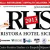 Espositore a Ristora Hotel Sicilia 2013